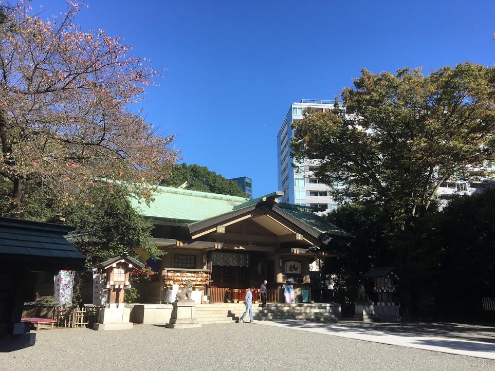 勝利の神様「東京原宿 東郷神社」~渋谷区神宮前